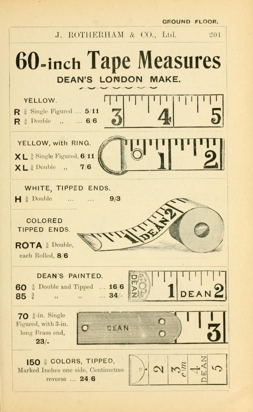 General price list. J. Rotherham & Co. Ltd.  Dean's London Make