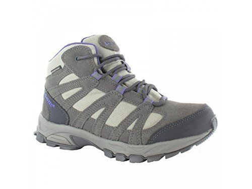 Hi-Tec Alto Women's Mid Waterproof Walking Boots - 8 - Grey - http: