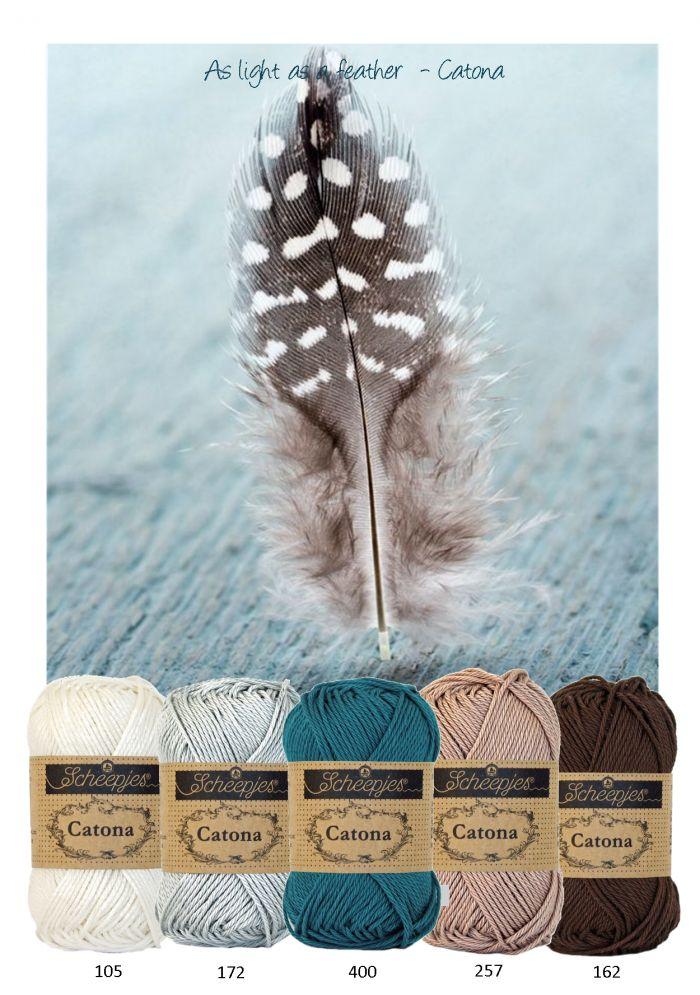 Kleurinspiratie ~ Feather - Off white - grijs - bruintinten en petrol.