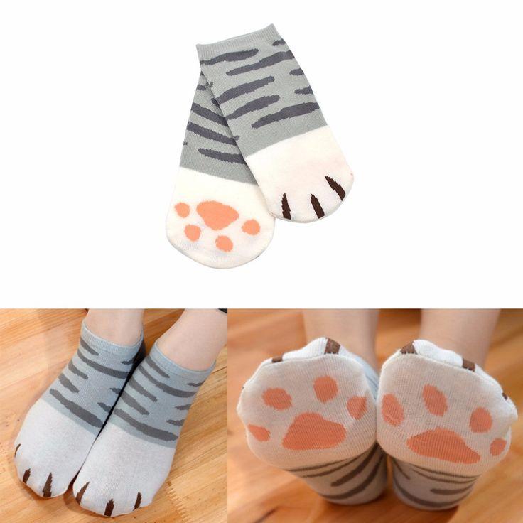 Women's Cat Paw Socks
