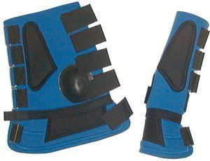"""Guardian Neoprene 4 In 1 Combination Boots by Guardian. $26.99. Ankle Protection! These boots offer overall ankle protection. Combines ankle, shin, overreach, rundown and bell boots - all in one. Longer, heavier boots with double Velcro closures. These durable closures double back on themselves making the boots hold better than cheap imitations. Constructed with covered 3  16 """" thick neoprene, 2"""" Velcro closures and Guardians unique, form fitting, durale..."""