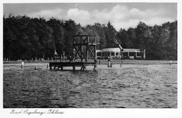 Das Segeberger Sprungturm 1945