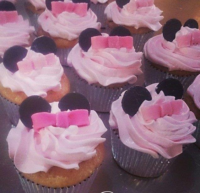 cupcake minnie pink