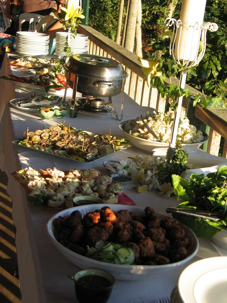 easy wedding finger foods weddings byron bay catering