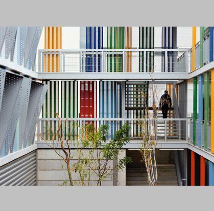 Mestura: residencia universitaria en Castelldefels (Barcelona)