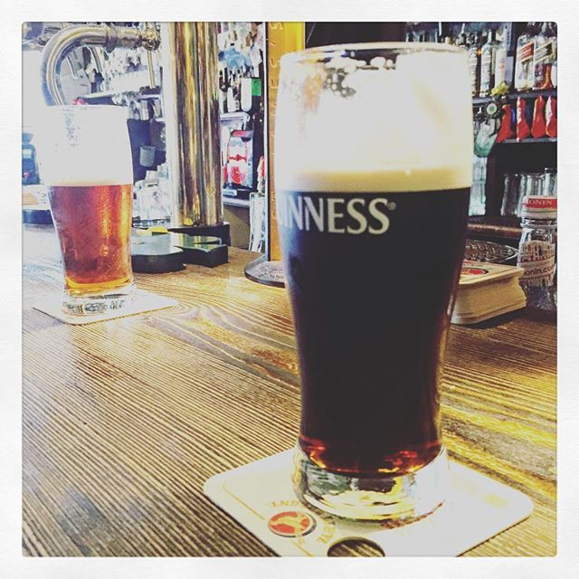 Our weekend honeymoon in neighboring Vienna, and this is how we're starting out   #honeymoon @kral_juraj #love #husband  #wife #king #queen #fun #weekend #vienna #europe #heart centered #cookie #punks #healers #catalyst for #change #guinness #kilkenny #beer #nothingisordinary #alittletipsy