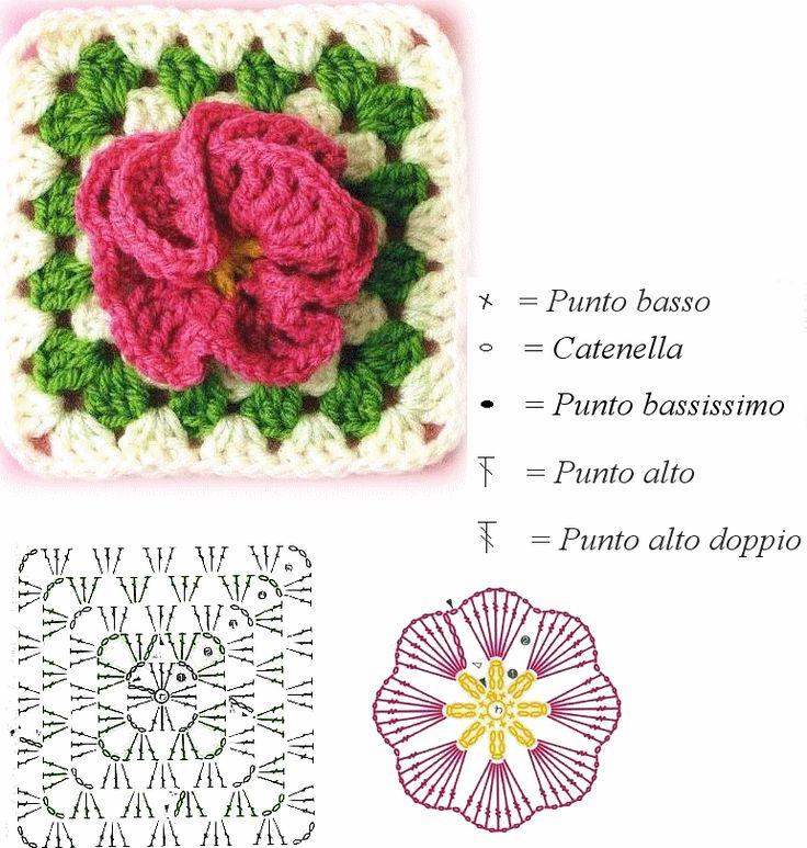 150 besten Crochet flowers #2 Bilder auf Pinterest | Häkelideen ...
