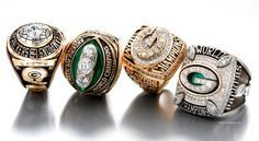 Green Bay Packers Super Bowl Rings - Shame they didn't make it this year. Welcome to Heaven - http://touchdownheaven.com/category/categories/green-bay-packers-fan-shop/