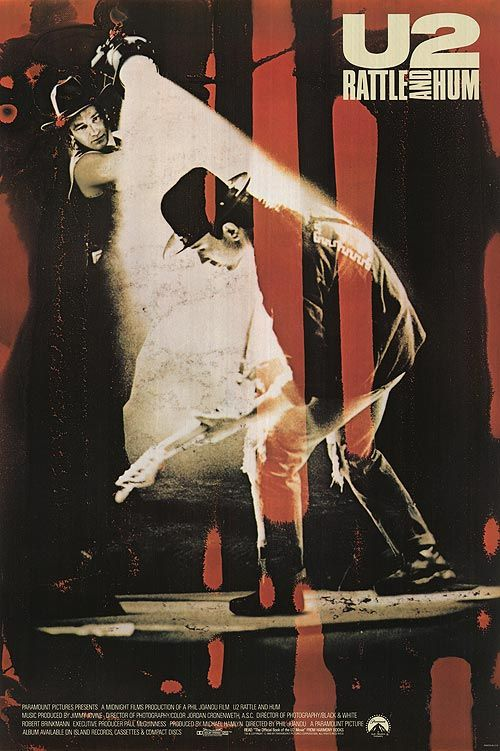 U2: Rattle and Hum (1988) | by Keith Link keithalink.com