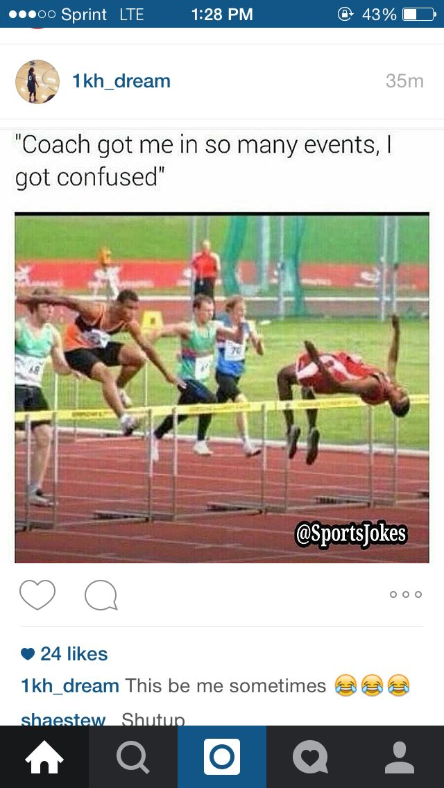 From high jump to hurdles.   Track and field, Running ...