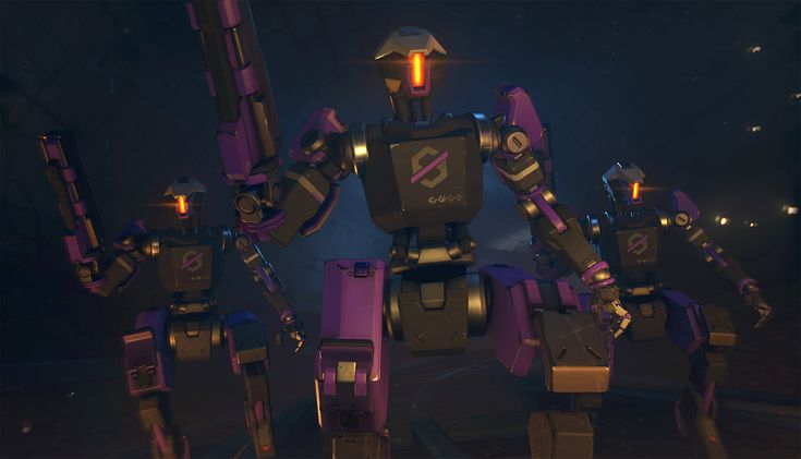 ArtStation - Overwatch - Omnic Uprising - Shooter, Niles Doubleday