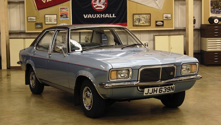 Car 8 was a Vauxhall Victor FE  what a rust bucket