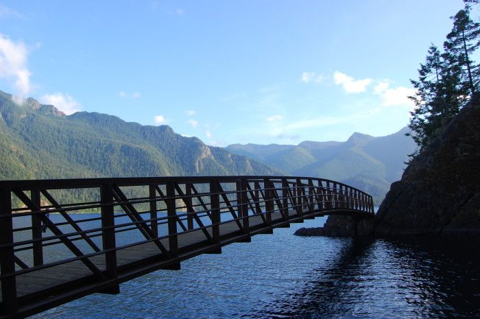 3. Go swimming in the Devil's Punchbowl at Lake Crescent.