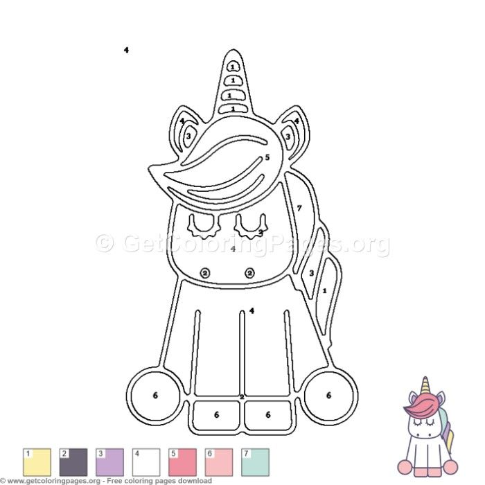 Unicorn Color By Number Coloring Pages Free Instant Download Coloring Coloringbook Coloringpages Col Disney Colors Zoo Coloring Pages Animal Coloring Pages