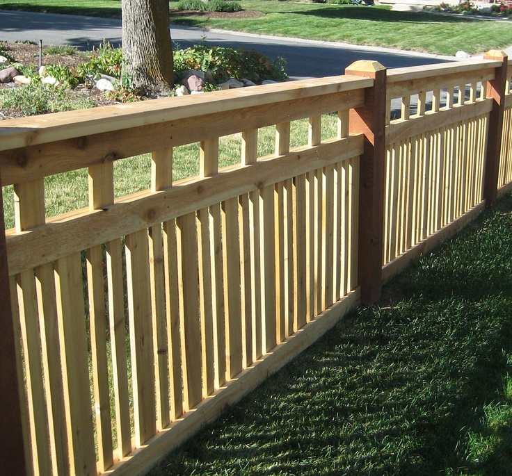 The Perfect Neighbor Friendly Fence Fence Design Front