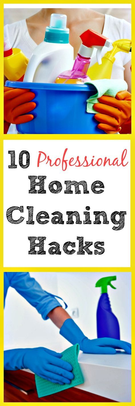 10 Professional Home Cleaning Hacks - These are so clever! | via…