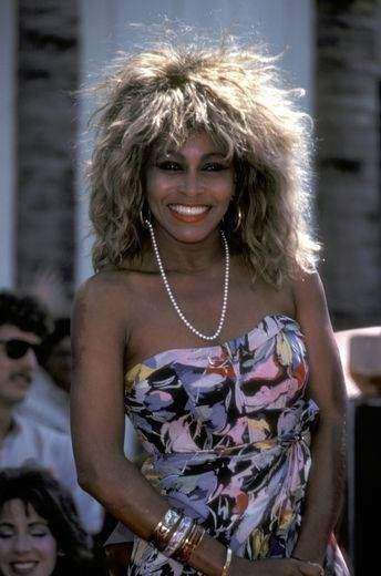 "Tina Turner was a famous singer. Her voice can inspire us to put ourselves out there. Her best song was ""The Best."""
