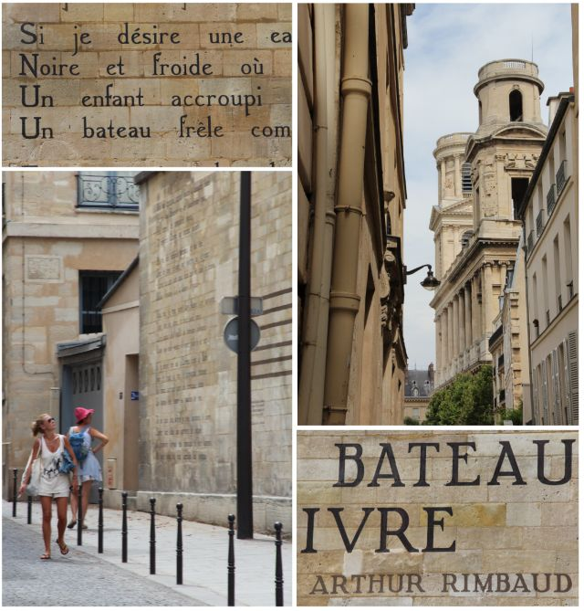 Paris Moment: Street Poetry