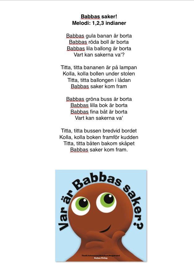 Sång om Babbas saker
