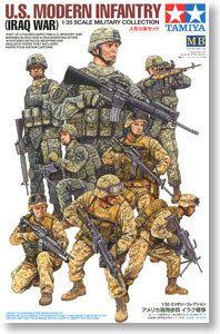 Модель 1/35 масштаб военные модели # 32406 сша современный пехота война в ираке ( 8 цифры ) пластиковая модель комплект