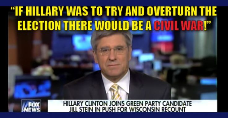 VIDEO : Trump Advisor Warns Clinton, if They Try to Overturn the Election There will be a CIVAL WAR 11/27/16