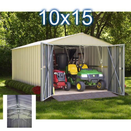 Metal-Storage-Shed-Garden-Outdoor-Building-House-Backyard-Large-Solution-Steel