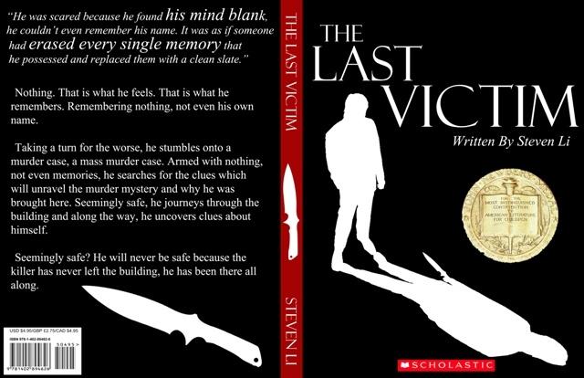 The Last Victim - Book Cover - Steven