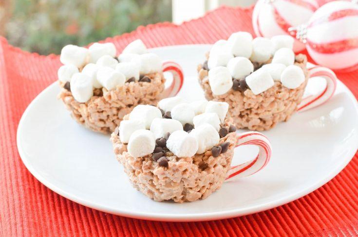 Hot Chocolate Rice Krispie Treats
