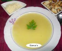 Supa de chimen cu crutoane ~ Bucataria din casa mea.