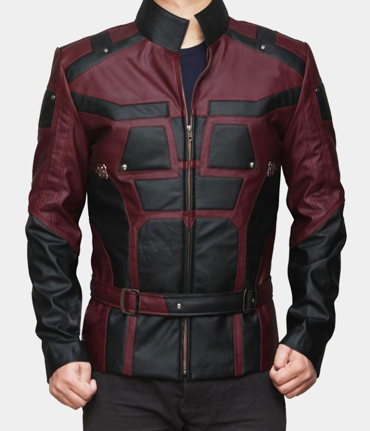 DareDevil Leather Jacket    https://www.mr-styles.com/product-category/fashion-collection/fashion-jackets-collection/superhero-leather-jackets/