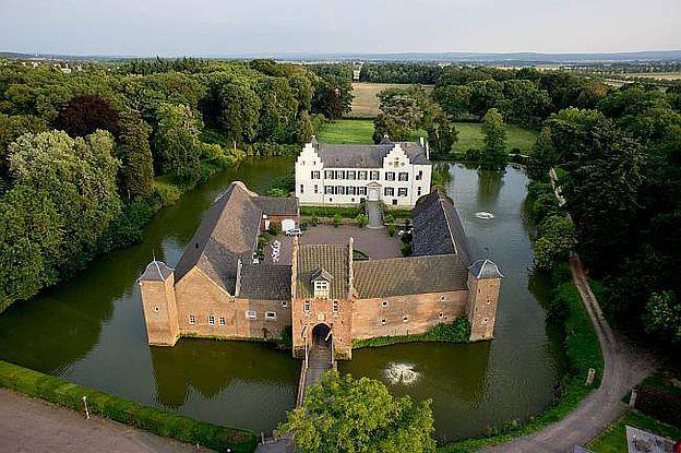 Burg Heimerzheim, Swisttal im Rhein-Sieg Kreis, Nordrhein-Westfalen/ NRW. © Burg Heimerzheim