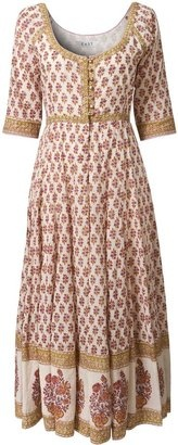 ShopStyle: Women's East Suki rose print long dress