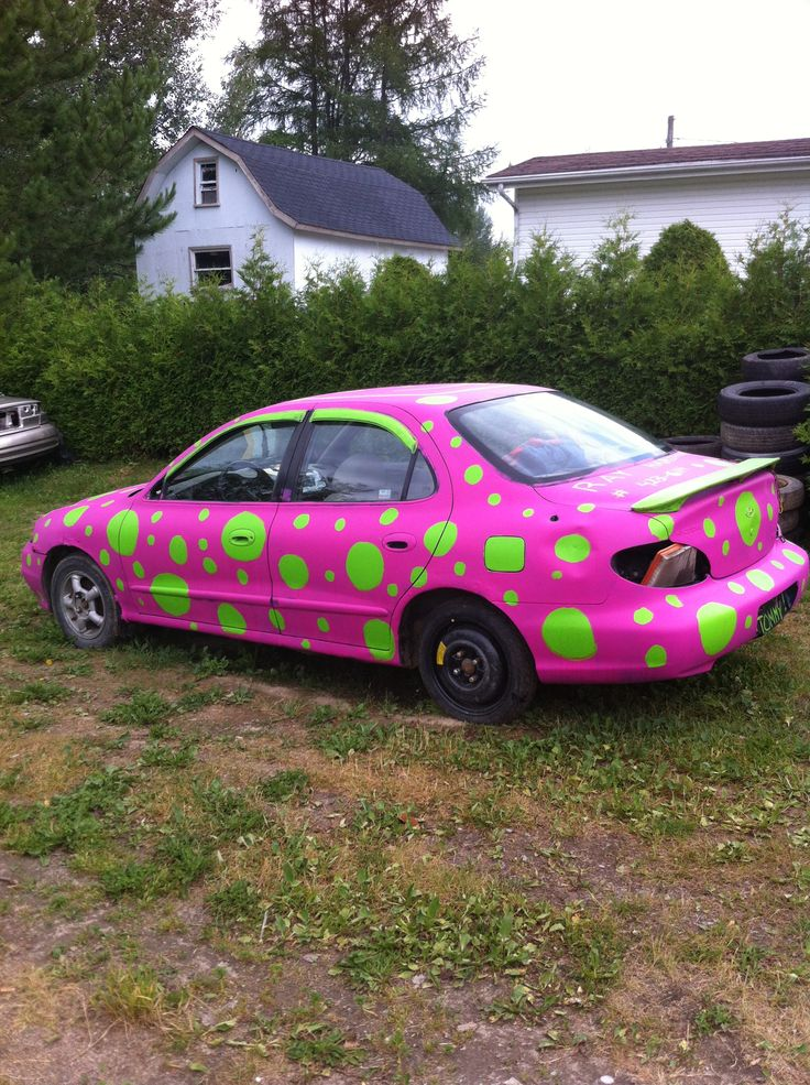 Best demo derby car paint jobs for Best car paint