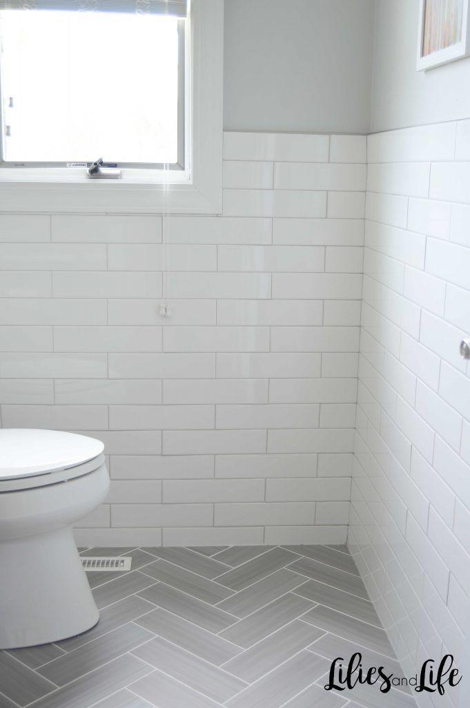 Powder Room Remodel Full Bathroom Remodel White Bathroom Tiles