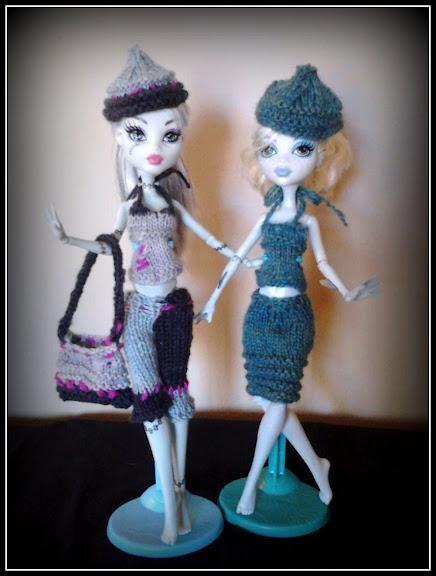 Knitting Patterns For Monster High Dolls : 1000+ images about My monster high knitting patterns on Pinterest Knitting ...