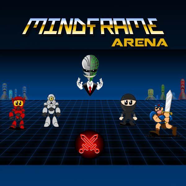 Robots vs Fighters #videogame #gamedev #dev #gaming #boardgame #game #ninja #robots