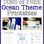 Ocean+Theme+Printables+&+More