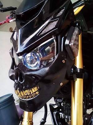 HONDA-MSX125-GROM-MOTORCYCLE-Z-SHAPE-FRONT-SHIELD-CHIN-HEADLIGHT-MASK