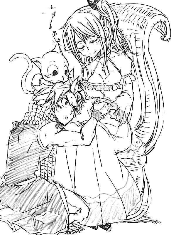 Pregnancy Lucy | Nalu sketch | Fairy tail, Fairy tail nalu ...