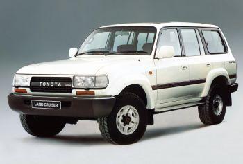 Toyota Land Cruiser Amazon VX (HDJ81V) '1990–92
