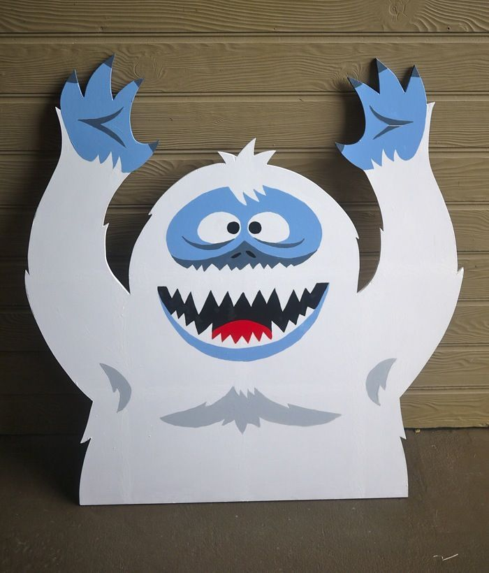 166 best abominable snowman bumble images on pinterest for Abominable snowman christmas decoration