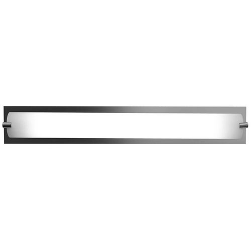 Access Lighting Modern Bathroom Light with White Glass in Chrome Finish | 31010-CH/OPL | Destination Lighting $184