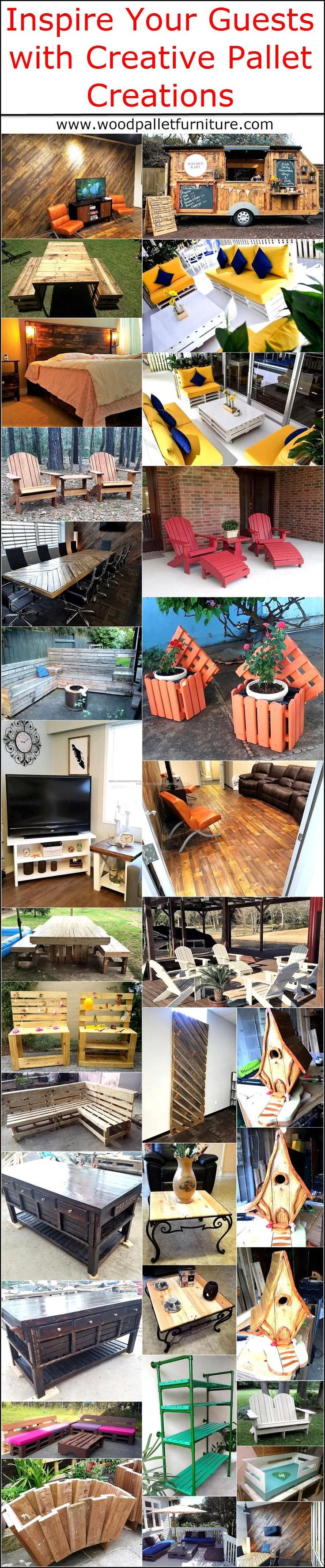 Inspire Your Guests with Creative Pallet Creations