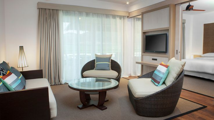 Sheraton New Caledonia Deva Spa and Golf Resort - 2 bedroom suite lounge area