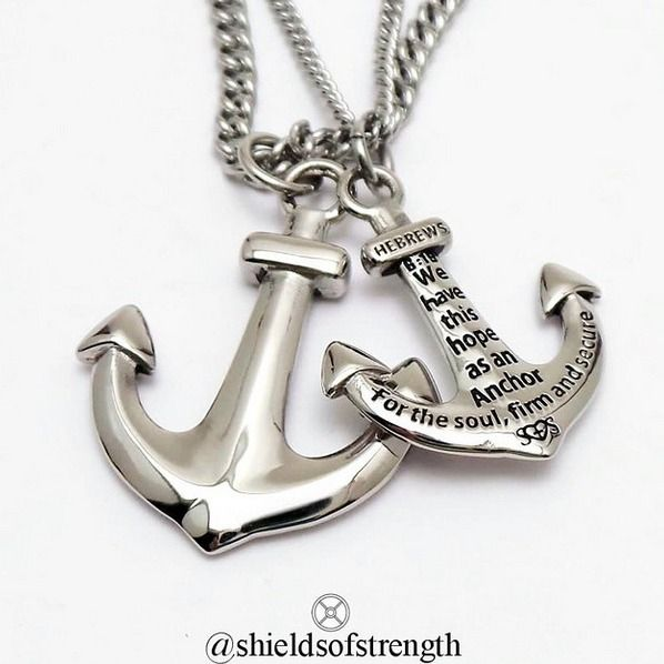 NEW stainless steel anchor!