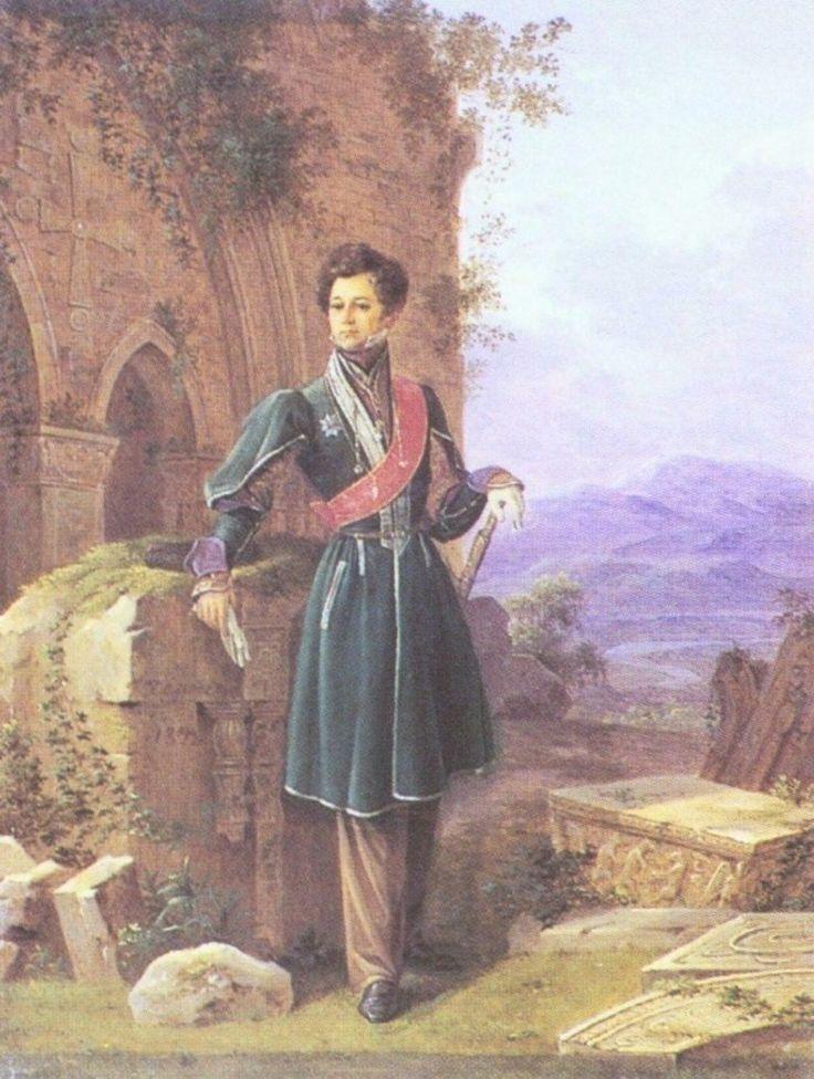 Гр. Павел Иванович Кутайсов ( 1780—1840) был женат на кнж. Прасковье Петровне Лопухиной (1784—1870)сестре Анны Лопухиной, фаворитки Павла I. Свадьба была сыграна при дворе. Гр. П. П. Кутайсова пережила мужа на 30 лет.