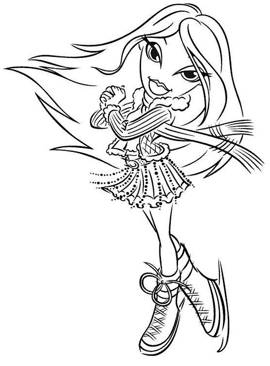 185 best Bratz images on Pinterest   Coloring pages, Digi stamps and ...