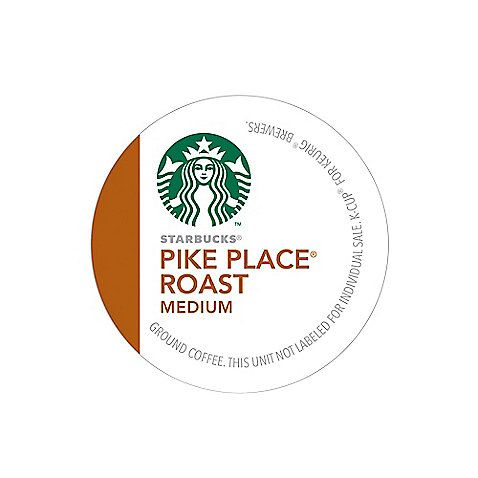 This blend reflects Starbucks history in Pike Place Market and offers subtle flavors of cocoa and toasted nuts.