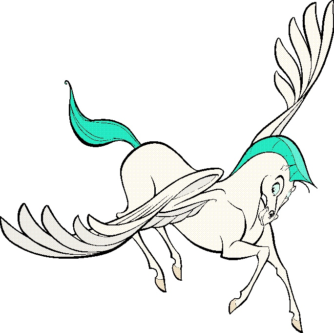 Disney\'s Hercules, nice stylized horse, except for th… | drawing ...