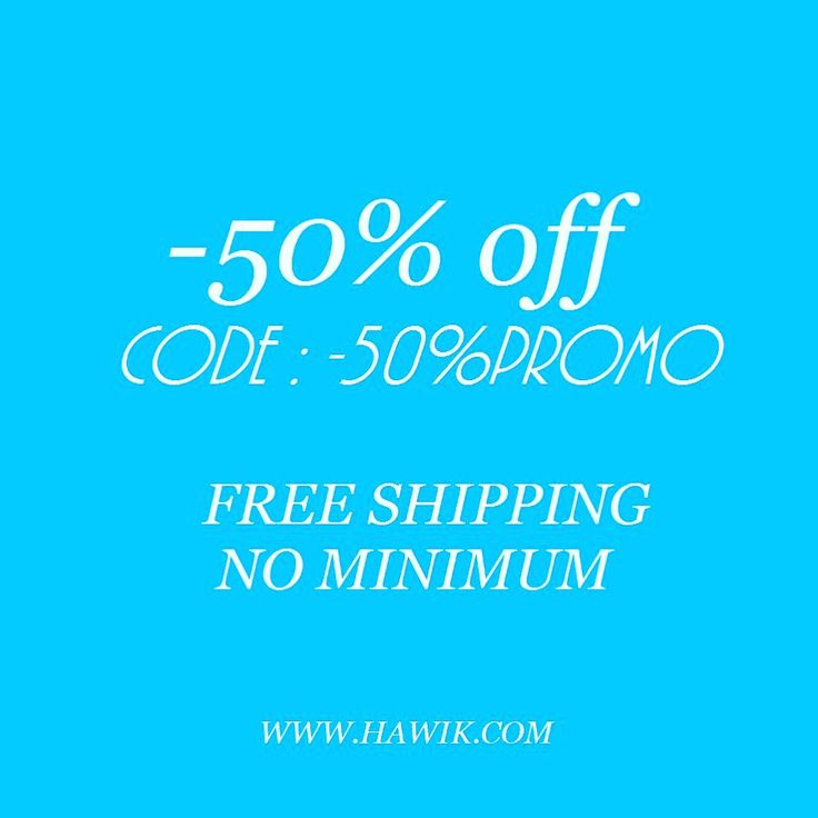 ONLY FOR TODAY 17.11.2015, -50% OF DISCOUNT. FREE SHIPPING. www.hawik.com